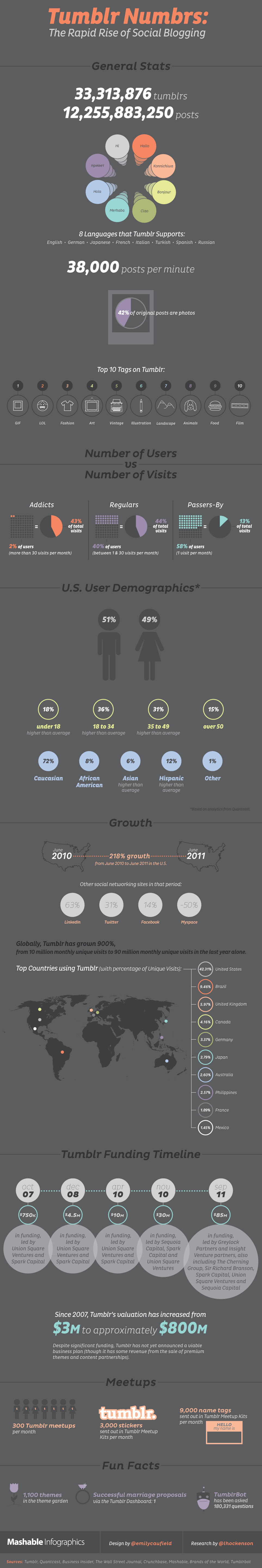 Tumblr the rapid rise of social blogging1 Social Media  What is Tumblr?