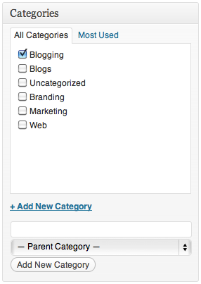 blog categories Are you getting the most out of your Blog?
