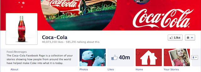 facebook coca cola 640 BIG Facebook Changes   Facebook Timeline For Fan Pages