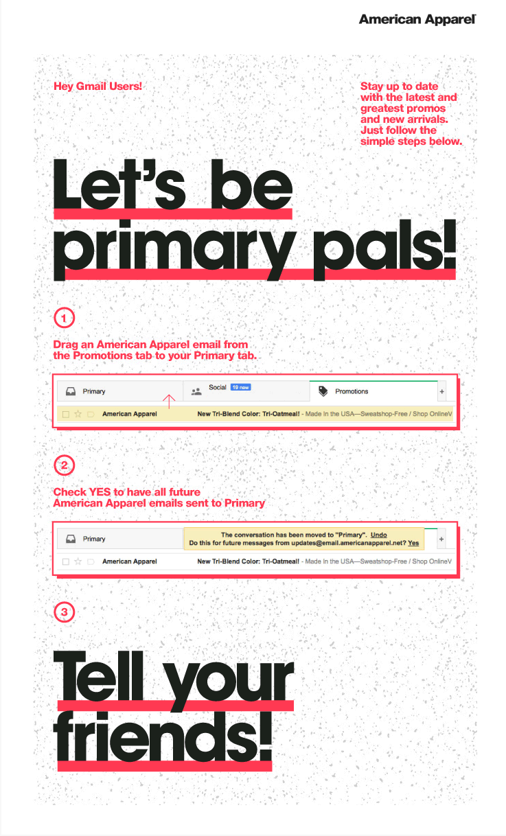 Let's be primary pals!